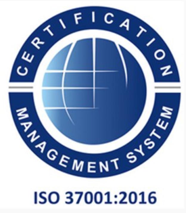 cni spa certificazioni iso 37001